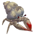 Hermit Crab (red & white variant)