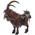 Brown Riding Goat
