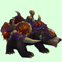 Dark Bear w/ Purple Amani Armour