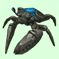 Onyx & Sapphire Crab