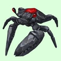 Onyx & Ruby Crab