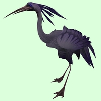 Dark Purple Crane