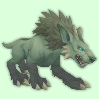 Ghostly Grey-Green Darkhound
