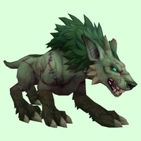 Stitched Green Darkhound