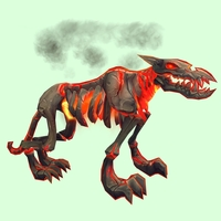 Red Infernal Hellhound w/ No Flames