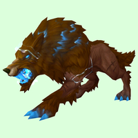 Brown Storm Wolf