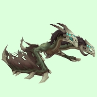 Green Death Chimaera w/ Horns