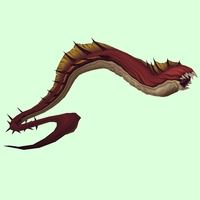 Red Aqir Serpent