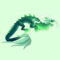 Heavenly Green Cloud Serpent
