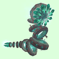 Turquoise Shale Worm