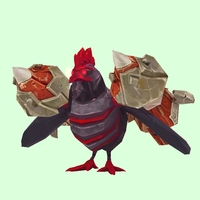 Red & Black Rocket Chicken