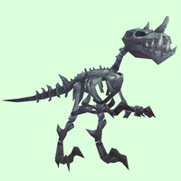 Grey Skeletal Raptor