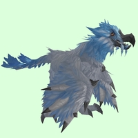 Silver-Blue Flightless Teroclaw