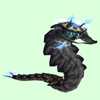 Dark-Yellow Tidal Worm