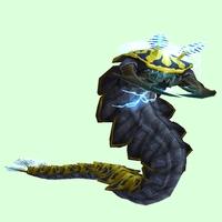 Yellow Tidal Worm
