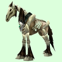 Brown Skeletal Horse