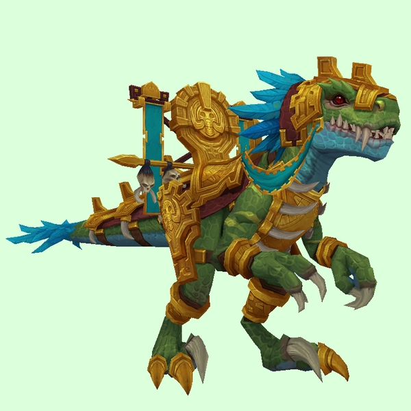 Gold-Armoured Green Ravasaur
