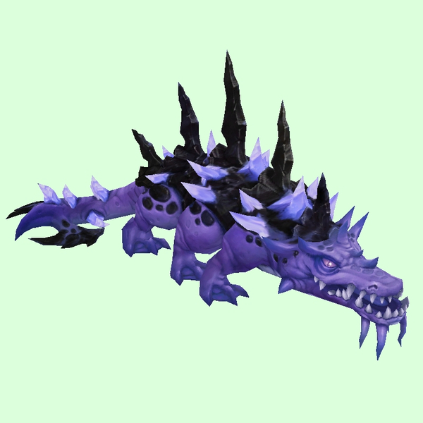Purple Spiny Basilisk