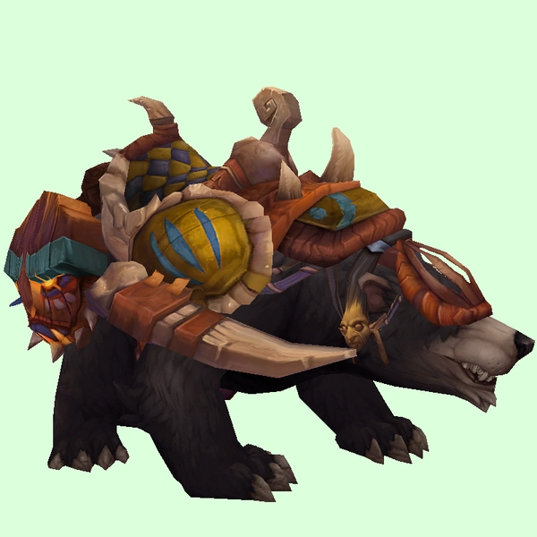 Dark Bear w/ Yellow Amani Armour