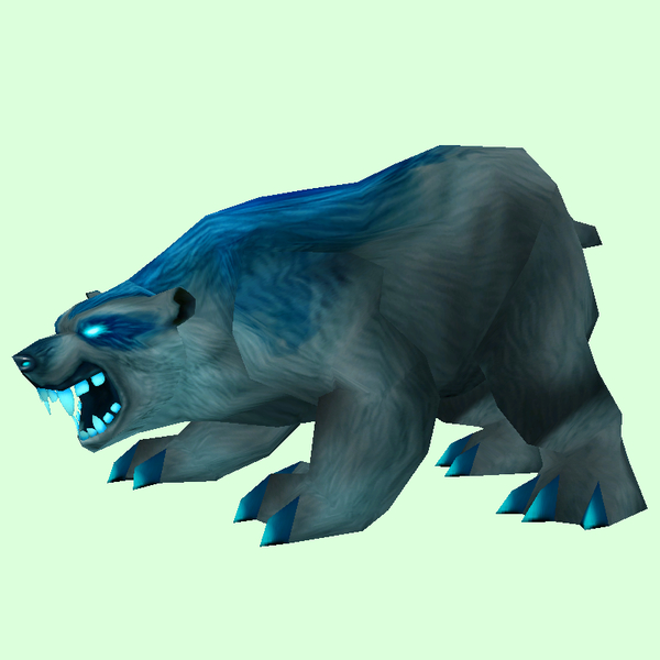 Dark Spirit Bear