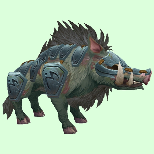 Diseased Boar w/ Steel Armour