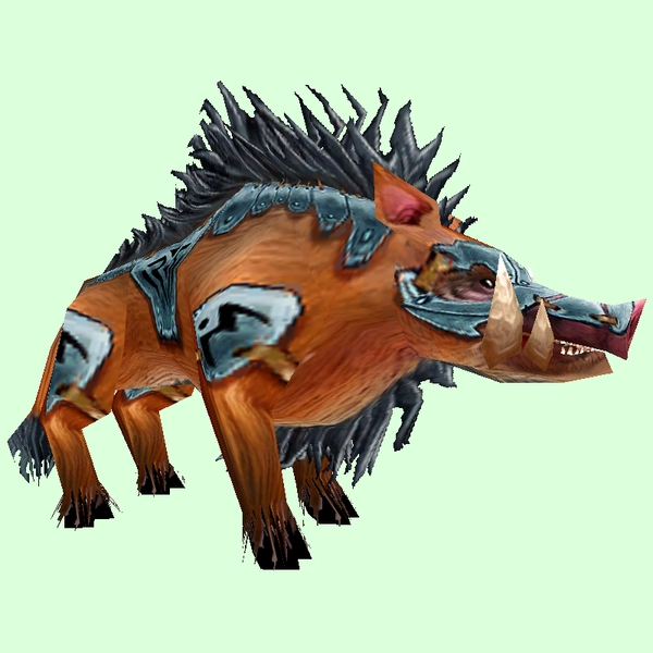 Armoured Brown Boar