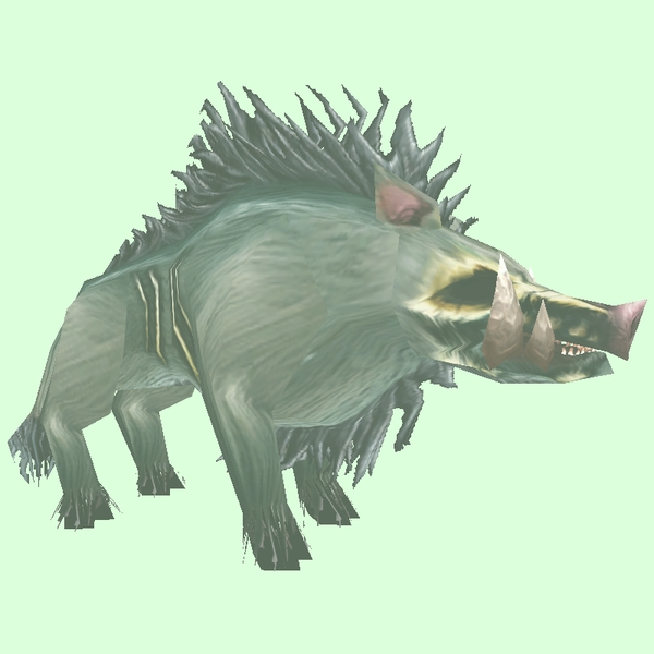 Ghostly Diseased Boar