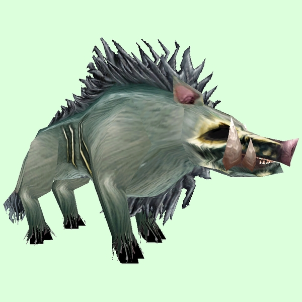 Diseased Boar