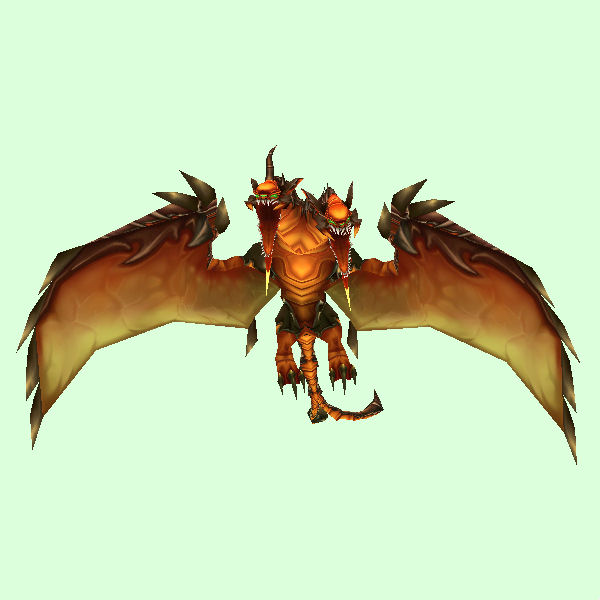 Orange Armored Chimaera