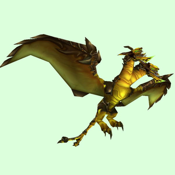 Yellow Armored Chimaera