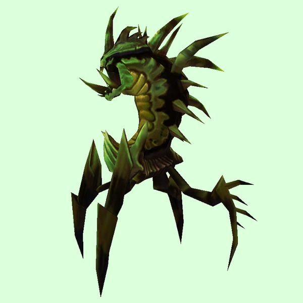 Dark Green Dire Ravager