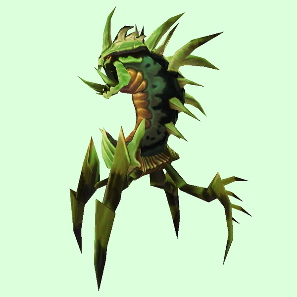 Green & Yellow Dire Ravager