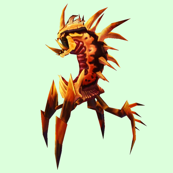 Orange & Crimson Dire Ravager