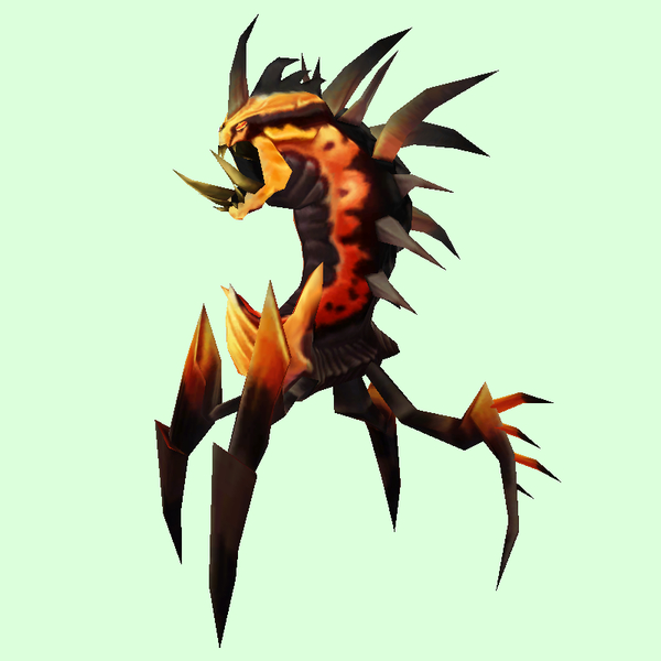 Orange & Black Dire Ravager