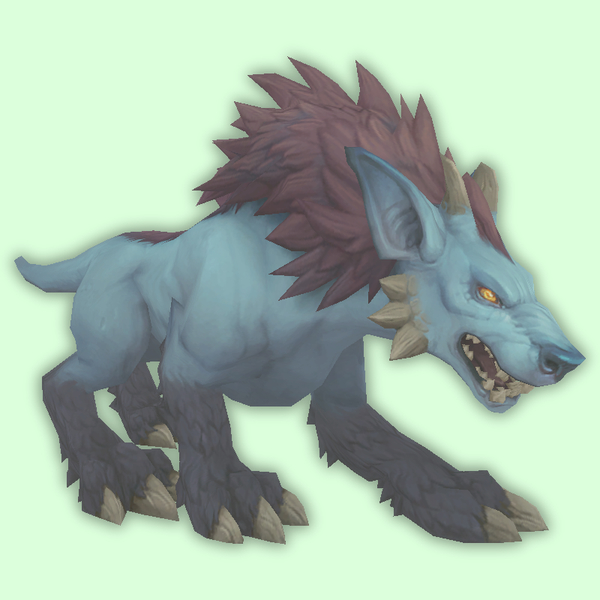 Ghostly Blue Darkhound
