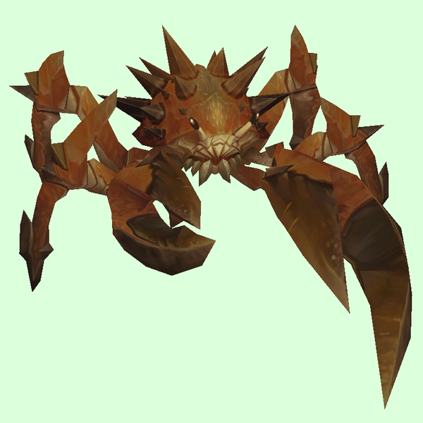 Brown Spiked Crab
