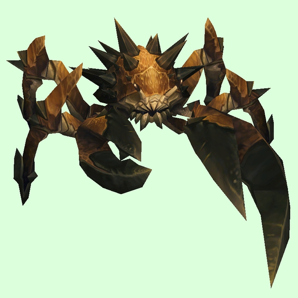 Dark Taupe Spiked Crab