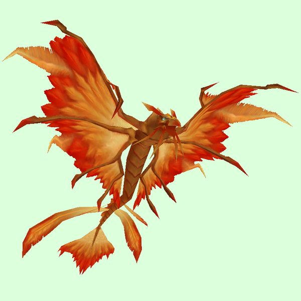 Orange Dragonhawk