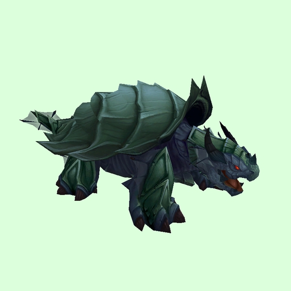Smoother Green Spiked Dragon Turtle
