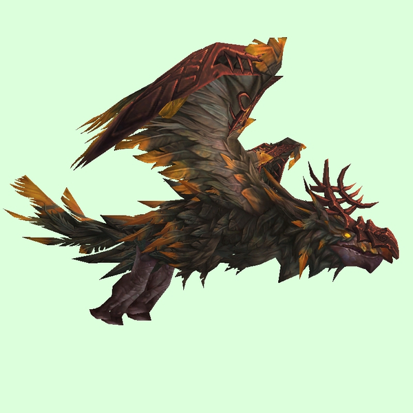 Armoured Brown Dread Raven
