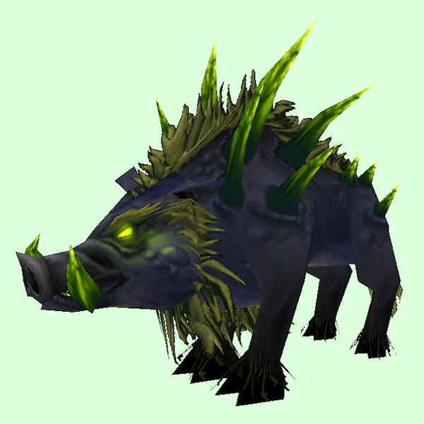 Black & Green Felboar