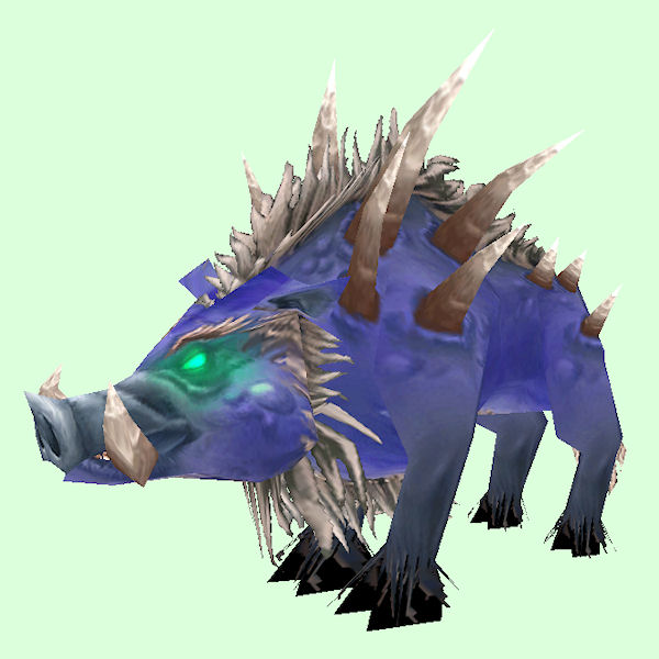 Blue & White Felboar