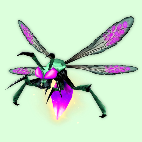 Purple Firefly w/ Yellow Glow