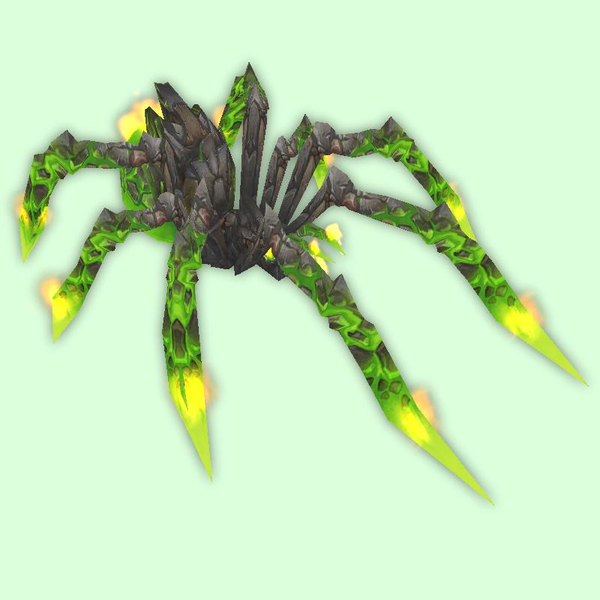 Green Fire Spider
