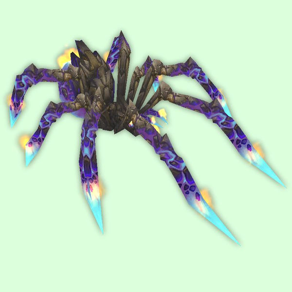 Purple Fire Spider