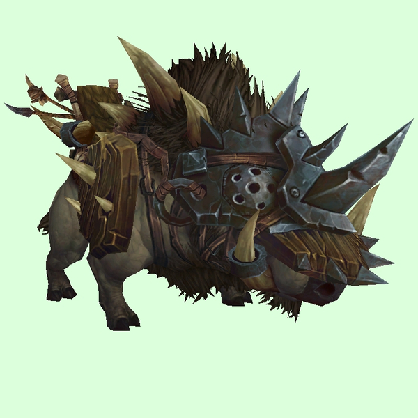 Armored Grey-Brown  Draenor Boar