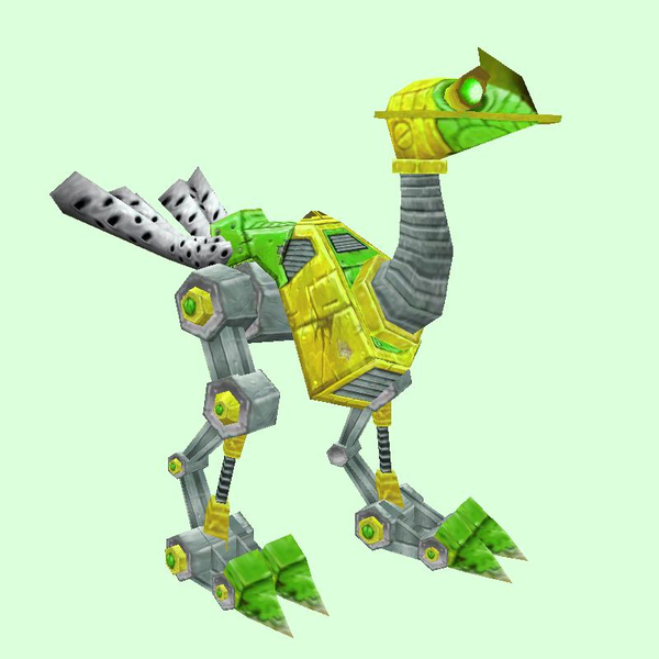 Green-Yellow Mechanostrider (Green Eyes)