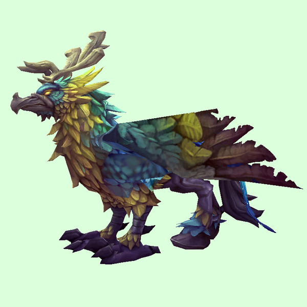 Blue & Gold Hippogryph