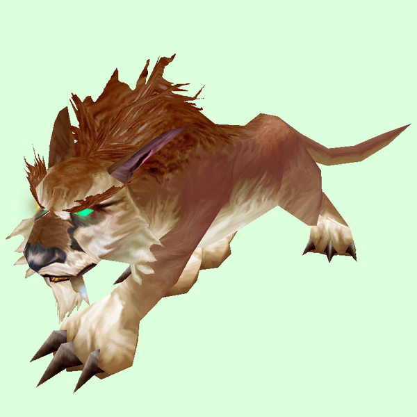 Brown Lynx Pet Look Petopia Hunter Pets In The World Of Warcraft