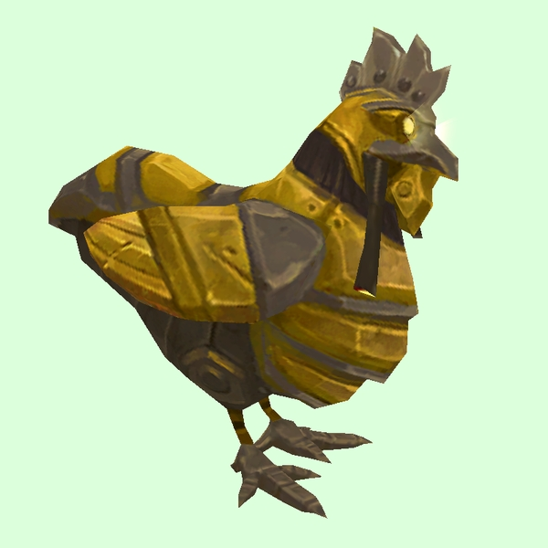 Gold Mechanical Chicken